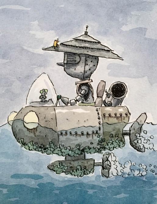 fish boat WM